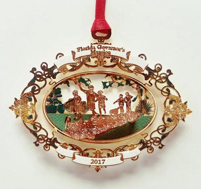 Musuem of Florida History Shops proudly presents 2017 Governor's Mansion Foundation's collectable ornament